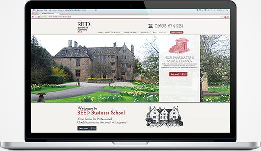 reed businees school website