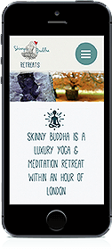 skinny buddha responsive website for mobile