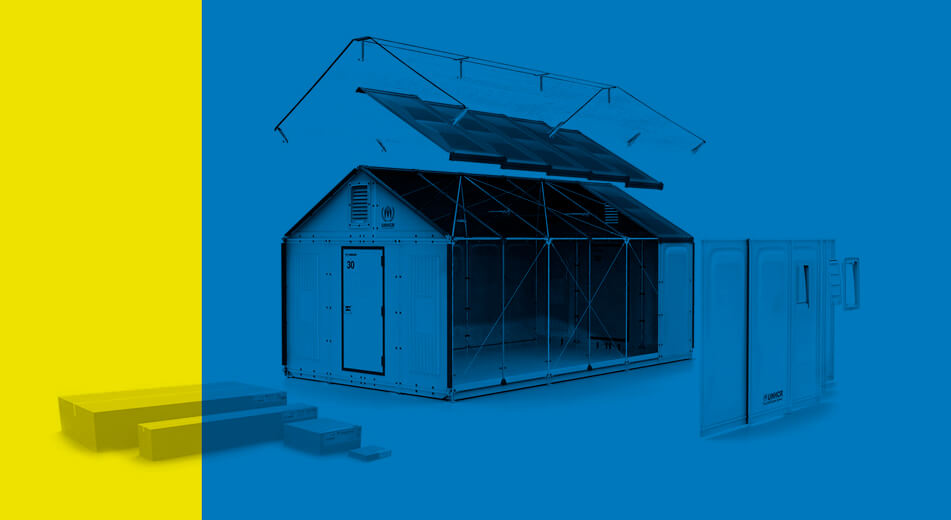 Ikea Designs Flat-Pack Temporary Refugee Housing