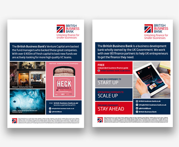 british business bank posters