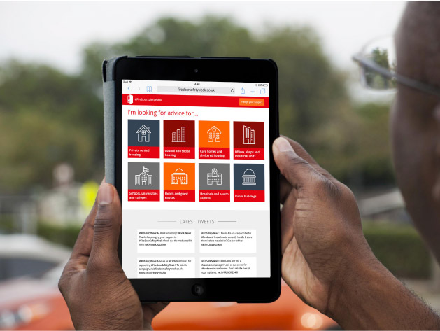 fire door safety week responsive website