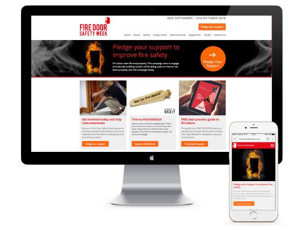 fire door safety week website