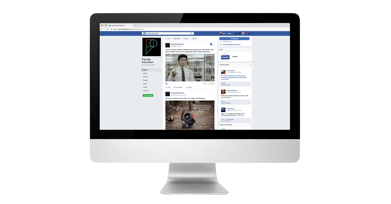 Pamoja Education - Social Media