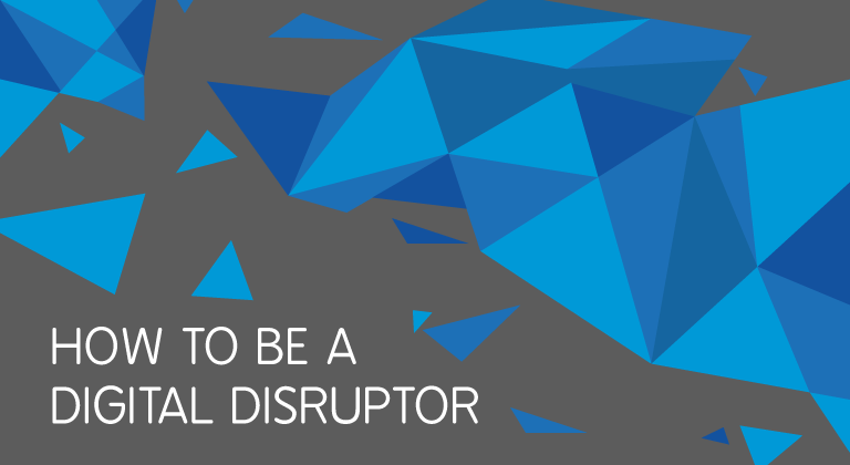Learn how to be disruptive from the best