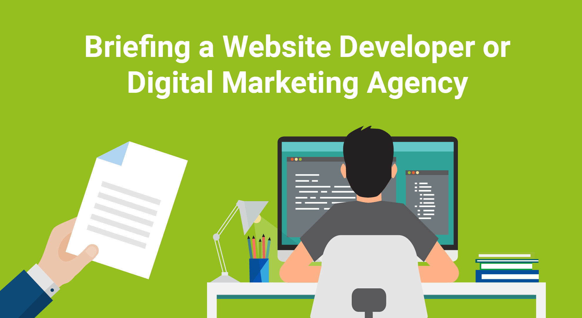 Briefing a Website Developer or Digital Marketing Agency