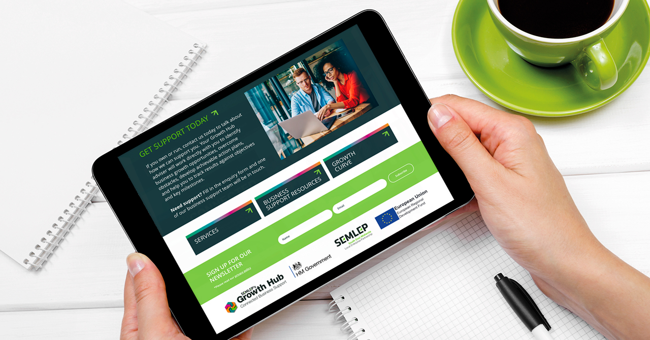 SEMLEP Growth Hub website