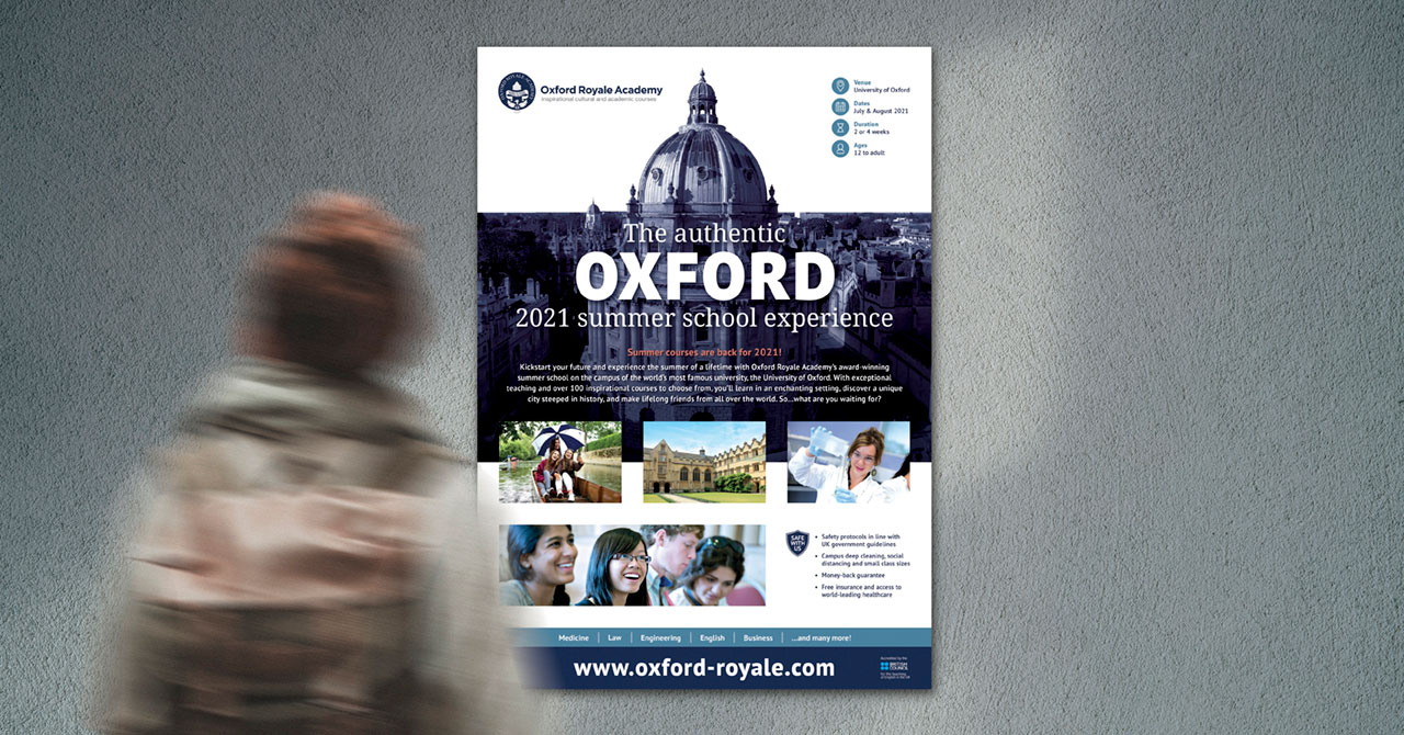 Oxford Royale Academy poster