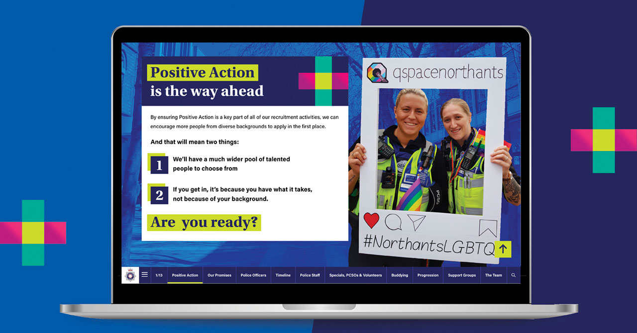 Positive Action Police website
